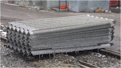 Asbest Dachdeckung 1