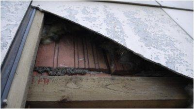 Asbest Fassadenplatten